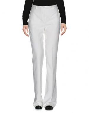 Повседневные брюки HANITA. Цвет: белый