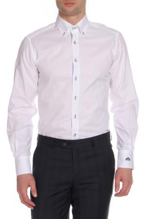 Рубашка Otto Kern. Цвет: белый