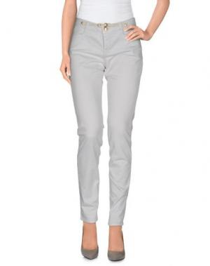 Повседневные брюки JECKERSON. Цвет: светло-серый