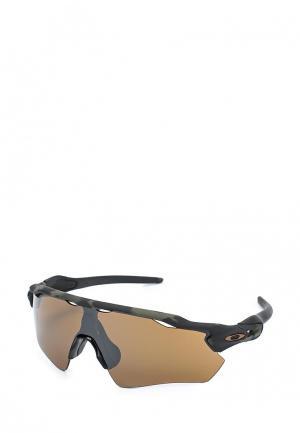 Очки солнцезащитные Oakley. Цвет: серый