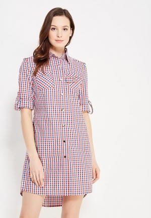 Платье DuckyStyle. Цвет: разноцветный