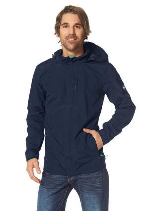 Куртка-дождевик POLARINO. Цвет: темно-синий