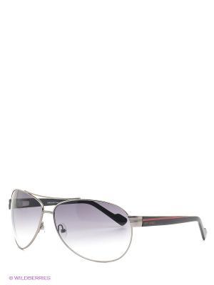Солнцезащитные очки IS 11-129 06 Enni Marco. Цвет: серебристый, черный, серый