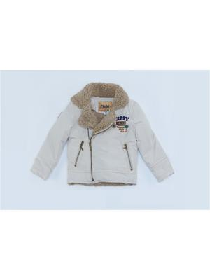 Куртка для мальчиков Pilota. Цвет: бежевый