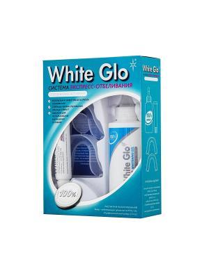 Система экспресс-отбеливания White Glo. Цвет: голубой