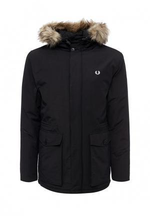 Куртка утепленная Fred Perry. Цвет: черный