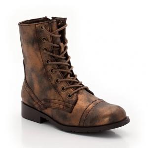 Ботинки со шнуровкой R kids. Цвет: бронзовый