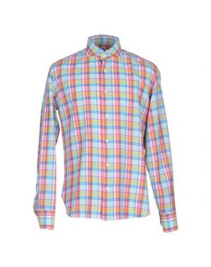 Pубашка DANOLIS. Цвет: коралловый