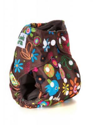 Многоразовый подгузник Mum`s Era. Цвет: коричневый, желтый, зеленый, оранжевый, розовый, синий