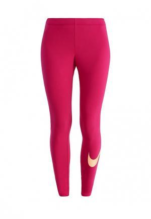 Леггинсы Nike. Цвет: фуксия