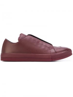 Кеды со скрытой шнуровкой Alexander McQueen. Цвет: розовый и фиолетовый