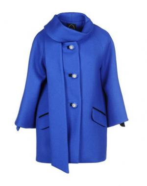 Пальто IVAN MONTESI. Цвет: ярко-синий