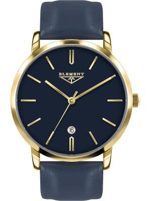 Часы 33 ELEMENT. Цвет: темно-синий, золотистый, желтый