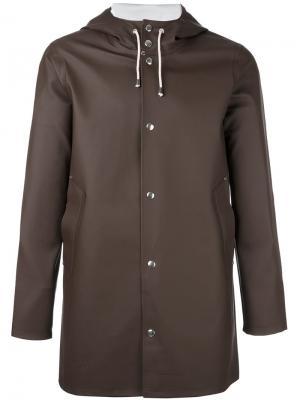 Пальто Stockholm Stutterheim. Цвет: коричневый