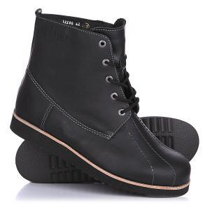 Ботинки зимние  Classic Tim Leath Black Rheinberger. Цвет: черный