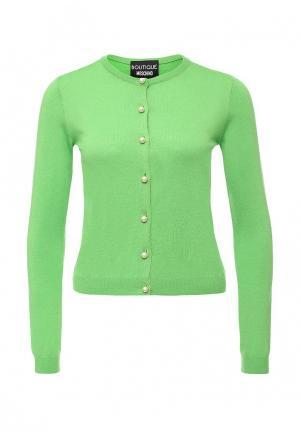 Кардиган Boutique Moschino. Цвет: зеленый