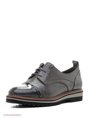 Ботинки Jana. Цвет: антрацитовый, темно-коричневый