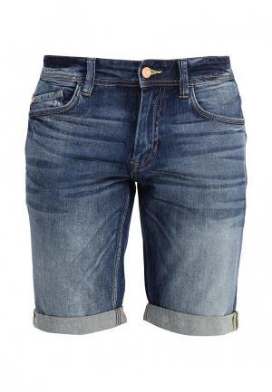 Шорты джинсовые Celio. Цвет: синий