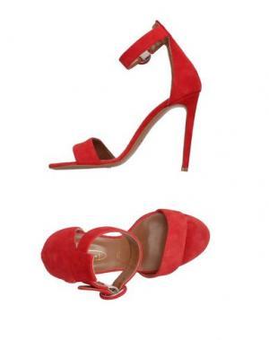 Сандалии BIANCA DI. Цвет: красный