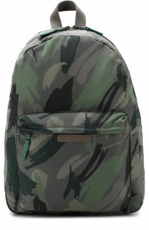 Текстильный рюкзак с принтом Stella McCartney. Цвет: хаки
