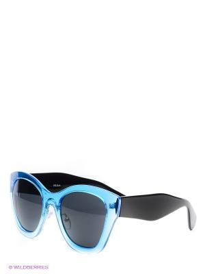 Солнцезащитные очки Selena. Цвет: черный, синий
