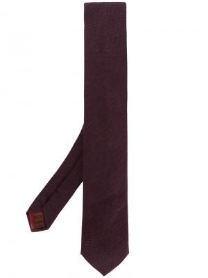 Классический галстук Fashion Clinic Timeless. Цвет: красный