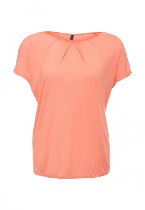 Блуза United Colors of Benetton. Цвет: оранжевый