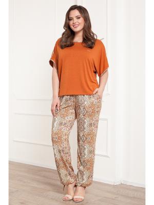 Комплект одежды CLEO. Цвет: терракотовый, бежевый