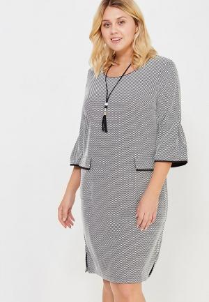 Платье Indiano Natural. Цвет: серый
