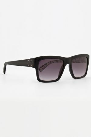 Очки солнцезащитные Lanvin. Цвет: черный