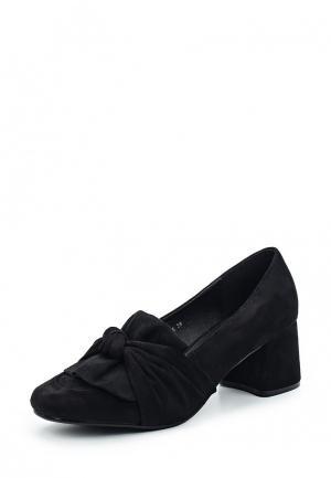 Туфли Y & L. Цвет: черный