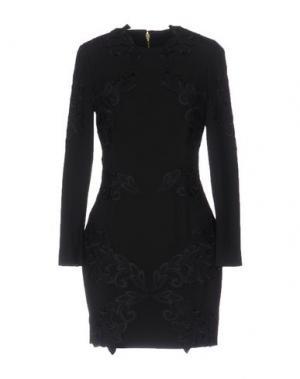 Короткое платье GAETANO NAVARRA. Цвет: черный