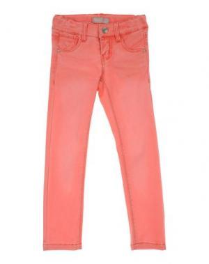 Джинсовые брюки NAME IT®. Цвет: лососево-розовый