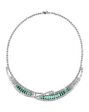 Ожерелье CZ by KENNETH JAY LANE. Цвет: зеленый