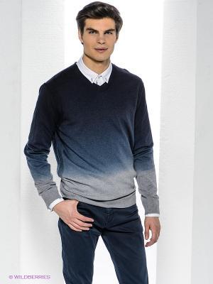 Пуловер Bogner Jeans. Цвет: темно-синий, серый меланж