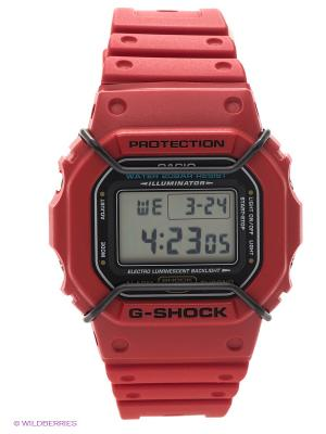 Часы G-SHOCK DW-5600P-4E CASIO. Цвет: красный