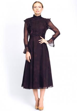 Платье Cavo. Цвет: бордовый
