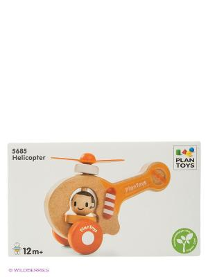 Вертолет PLAN TOYS. Цвет: бежевый