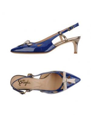Туфли F.LLI BRUGLIA. Цвет: ярко-синий