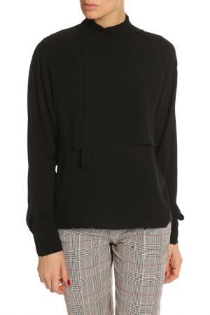 Блуза Nina Ricci. Цвет: черный