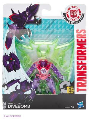 Трансформеры Роботс-ин-Дисгайз Миниконс Hasbro. Цвет: фиолетовый