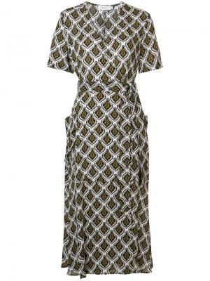 Платье Stephanie A.L.C.. Цвет: белый