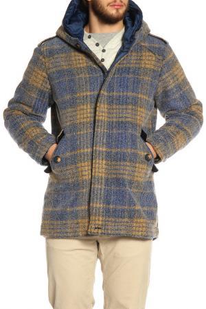 Пальто LOST IN ALBION. Цвет: светло-голубой