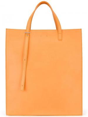 Прямоугольная сумка-тоут Pb 0110. Цвет: телесный