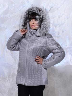 Куртка FERGO. Цвет: серый