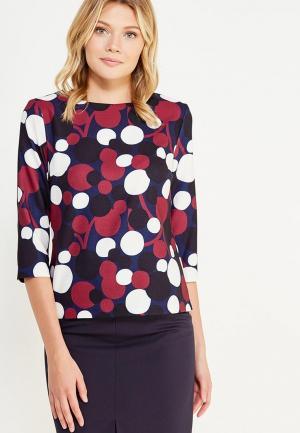 Блуза Emka. Цвет: разноцветный