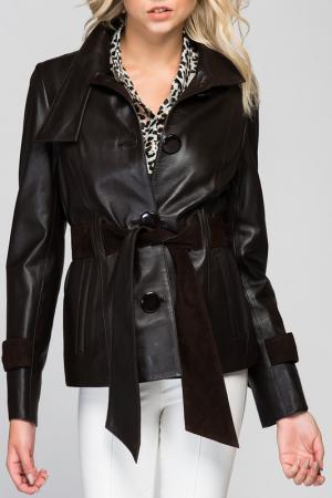 Куртка Deda. Цвет: коричневый