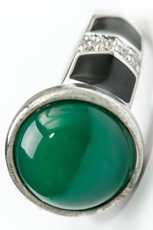 Кольцо FRANSUA ARDY. Цвет: зеленый