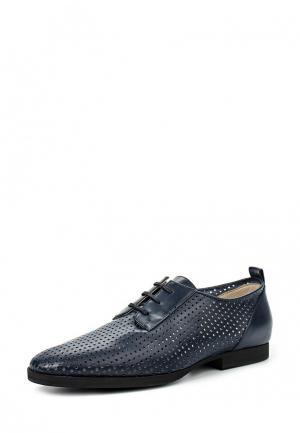 Ботинки Jil Sander Navy. Цвет: синий