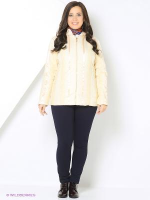 Куртка Sirenia. Цвет: бежевый